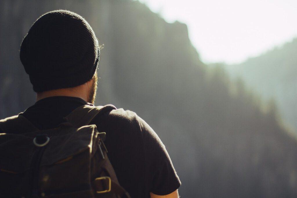 hiking, trekking, mountains